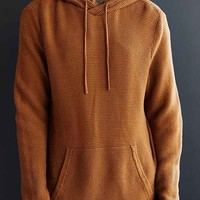 Your Neighbors Pullover Hooded Sweater- Brown