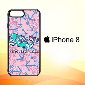 Lilly Pulitzer Vineyard Vines E1375 iPhone 8 Case