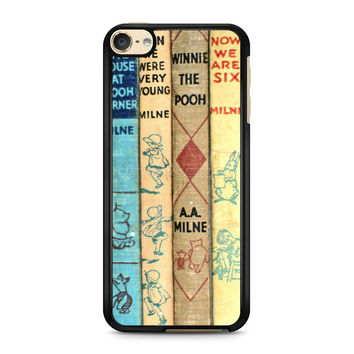 iPod Touch 4 5 6 case, iPhone 6 6s 5s 5c 4s Cases, Samsung Galaxy Case, HTC One case, Sony Xperia case, LG case, Nexus case, iPad case, winnie the pooh old book Cases
