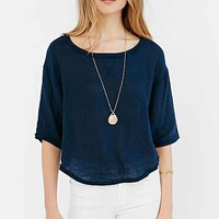 BDG Parker Double Cloth Tee-