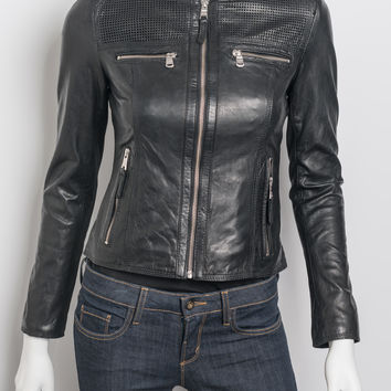 Marc New York - Gracie - Leather Moto Jacket