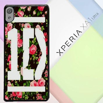 1D One Direction Floral V0288 Sony Xperia XA1 Ultra Case