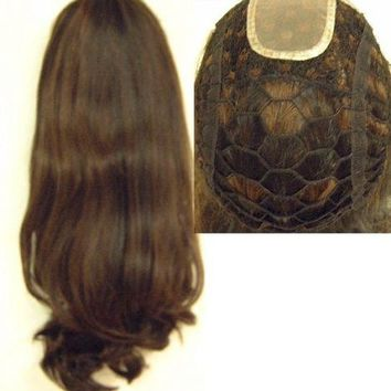 "18"" Integration Body Wave Human Remi Hair Pieces"