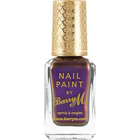 River Island Womens Persian purple Barry M aquarium nail polish