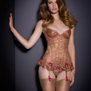 View All by Agent Provocateur - Zaharah Corset