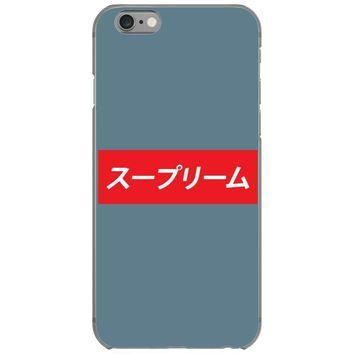 supreme japanese iPhone 6/6s Case