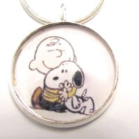 Snoopy and Charlie Brown necklace