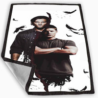 Supernatural ravens Blanket for Kids Blanket, Fleece Blanket Cute and Awesome Blanket for your bedding, Blanket fleece **
