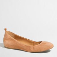 Factory Anya suede ballet flats : Shoes | J.Crew Factory