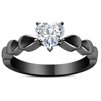 romantic heart shape  finger Rings new love white cz zircon wedding cheap Engagement Ring for women drop shipping