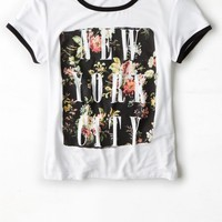 AEO 's Graphic Baby T-shirt (White)