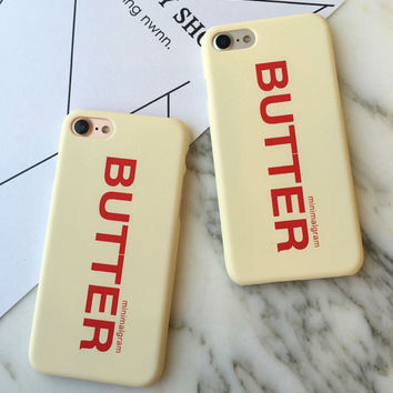 Butter Case for iPhone 7 7Plus & iPhone se 5s 6 6 Plus Best Protection Cover +Gift Box