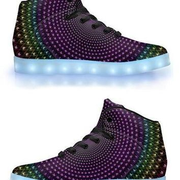Sahasrara by Sam and Cate Farrand - APP Controlled High Top LED Shoe