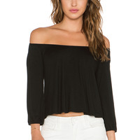 Clayton Darcy Top in Black