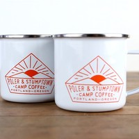 Stumptown Coffee Roasters - Poler x Stumptown Mugs