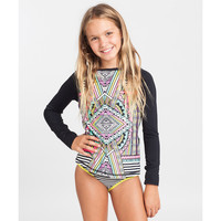 Billabong Girls' Stellar Rashguard Set Multi