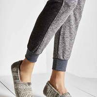 TOMS Classic Knit Slip-On Shoe- Grey