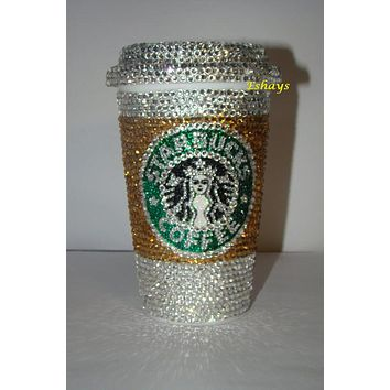 Custom Starbucks Coffee Cups with Lid 16oz