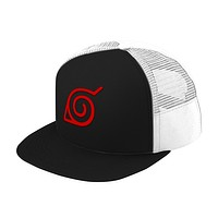 Naruto Village Leaf Trucker Hat - PF00284TH