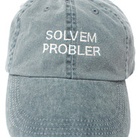 Solvem Probler 6 panel low profile embroidered Cap  (Sterling Bartlett x Altru Apparel)