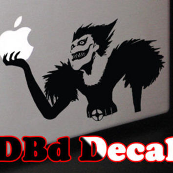 Ryuk the Shinigami Decal for Macbook, Laptops, and Cars