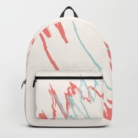 Pastel Creme Backpack by spaceandlines