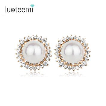 Imitation Pearl Stud earing For Women