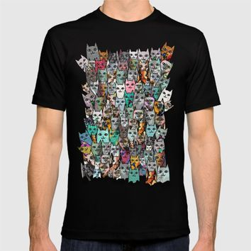 Gemstone Cats T-shirt by Notsniw