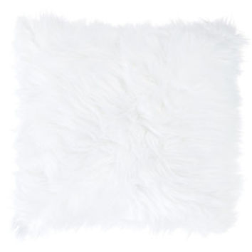 White Faux Fur Square Pillow | Hobby Lobby | 1289958