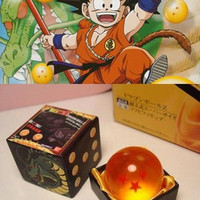 1* Anime Dragonball Dragon Ball Z Crystal Ball NO.4 STAR BALL