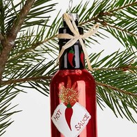 Hot Sauce Ornament - Red One