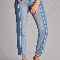 Pixie & Diamond Step-Hem Jeans