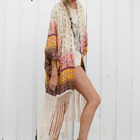 Desert Wanderer Tassel Kimono - High Noon | Spell & the Gypsy Collective