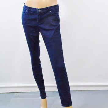 Armani Exchange Dark Blue Stretch Skinny Womens Jeans Size 30R