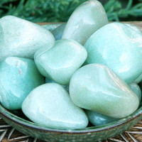 Aventurine Tumbled Gemstone . For Luck, Money, Gambling, Perception, Creative Insight, Healing . Large