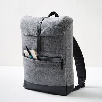 Hex Tweed Cloak Backpack