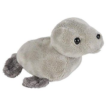 Wildlife Tree 3.5 Inch Harbor Seal Mini Small Stuffed Animals Bulk Bundle of Ocean Animal Toys or Sea Party Favors for Kids Pack of 12