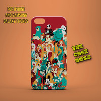 TEAM DISNEY Design Custom Phone Case for iPhone 6 6 Plus iPhone 5 5s 5c iphone 4 4s Samsung Galaxy S3 S4 S5 Note3 Note4 Fast!