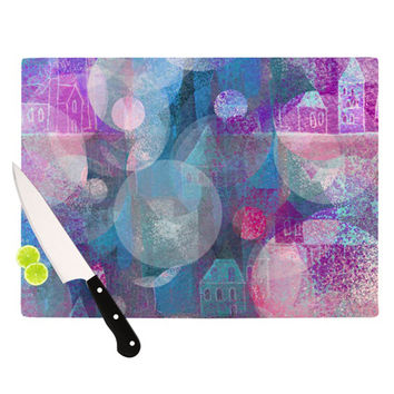 "Marianna Tankelevich ""Dream Houses"" Cutting Board"