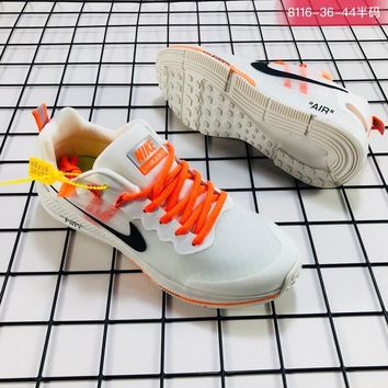Nike Air Zoom Structure 21 x Off White White Running Shoes - Best Deal Online