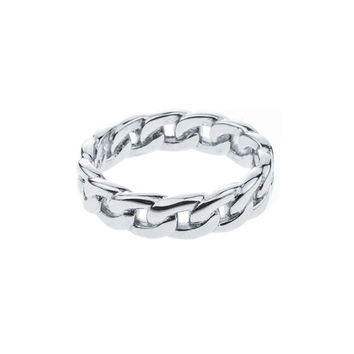 Mister  Cable Silver Ring - 925