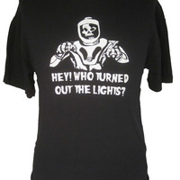 Hey Who Turned The Lights Out Doctor Who Shirt