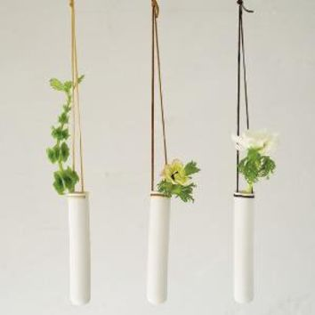 Hanging Test Tube Vase by PigeonToeCeramics on Etsy