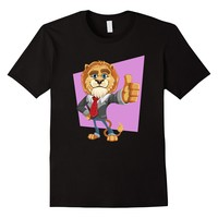Lion giving thumbs up - Adorable T-Shirt for kids