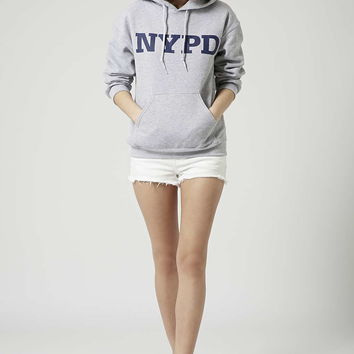 NYPD Hoodie by Tee & Cake - Topshop