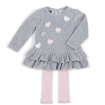 Clearance Mud Pie Heart Tunic and Leggings Set