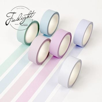 Washi Decorative Rainbow Masking Tape