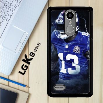 Odell Beckham Jr New York Giants X5642 LG K8 2017 / LG Aristo / LG Risio 2 / LG Fortune / LG Phoenix 3 Case