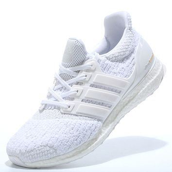 "Women ""Adidas"" Boost Fashion Trending White Leisure Running Sports Shoes"