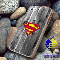 superman on wood Design For iPhone Case Samsung Galaxy Case Ipad Case Ipod Case